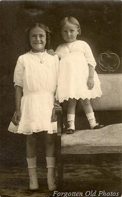 Josies girls Cyko Postcard Solway