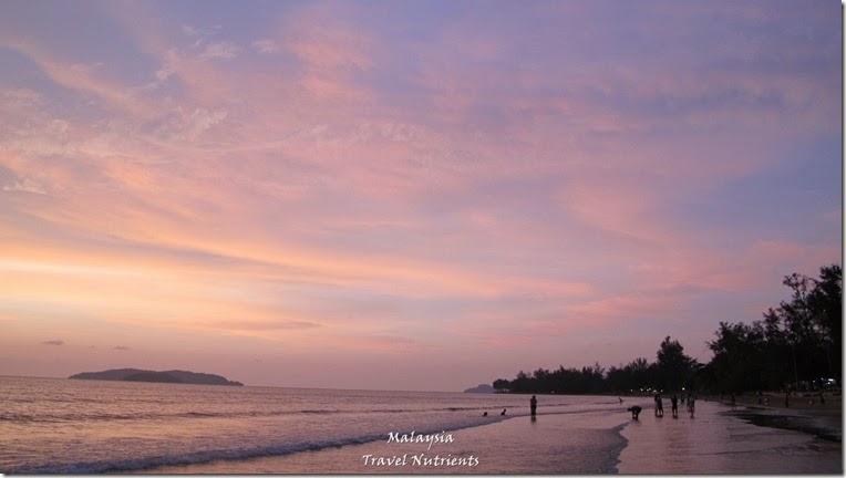 沙巴亞庇丹容亞路海灘夕陽 Perdana Park音樂水舞 (15)