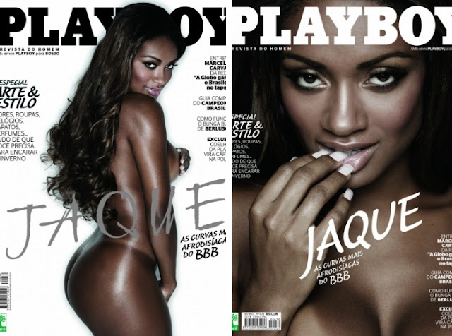 Jaque E Bbb Na Capa Da Playboy Bem Mais Portada
