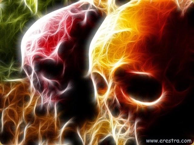 firey death