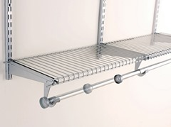 Superieur Rubbermaidu0027s Ventilated Shelving Comes In Linen (regular), Wardrobe (no  Wires On The Front Rail), FreeSlide (built In Wire Hanging U201crodu201d), And  TightMesh ...
