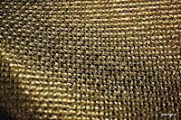 Tkanina metaliczna meblowa. Stare złoto.