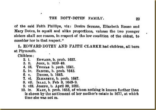 Doty-Doten Family In America - The Family of Edward Doty (24)