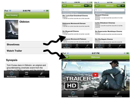Now Showing App 02