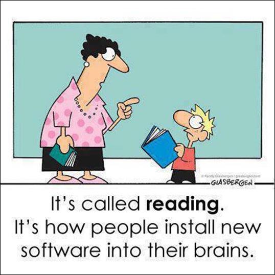 ler é instalar conhecimentos