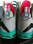 nike lebron 9 ps elite grey candy pink 5 09 LeBron 9 P.S. Elite Miami Vice Official Images & Release Date