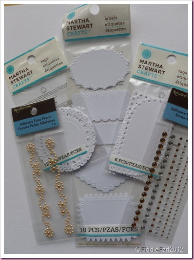 Martha Stewart Craft Labels and tags