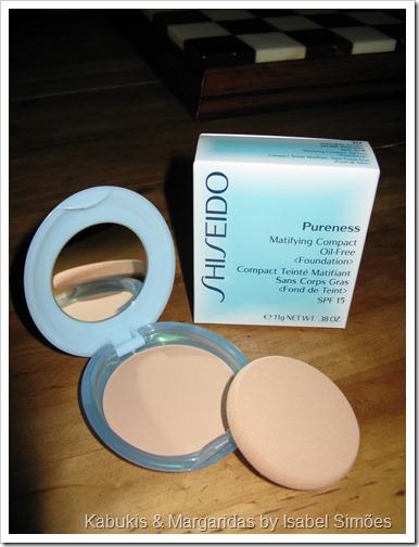 Base em Pó Pureness da Shiseido