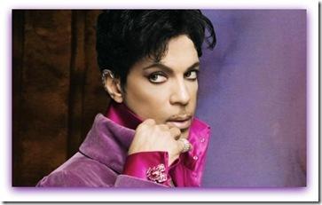 Imagem do cantor Prince