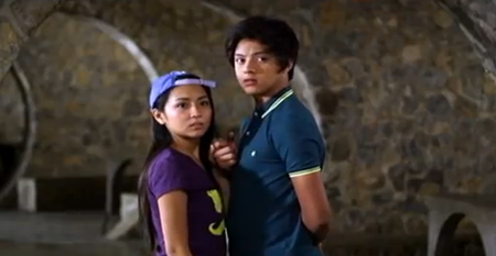 Kathryn Bernardo and Daniel Padill in Must Be... Love
