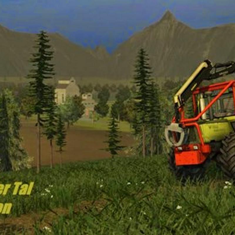 Farming simulator 2013 - Tannheim v 1.0 forst