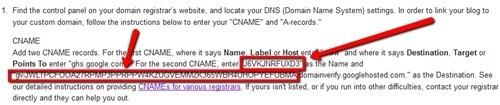 cname ownership verification code