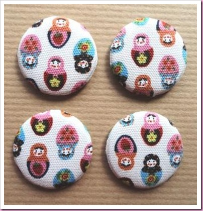 Russian Doll Pin Badge