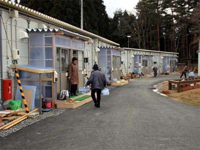 Survivors of the Fukushima disaster have spent on average five months in government-provided temporary shelters. Pamela Ravasio