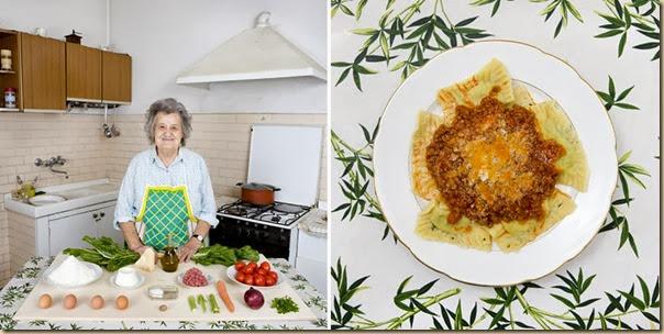 Portraits de grand-mères et leurs plats cuisinés (2)