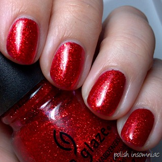 China Glaze Ring In the Red 4