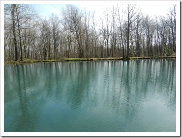 2013-04-27 Forbes State Forest, PA - Campsite Lake (5)