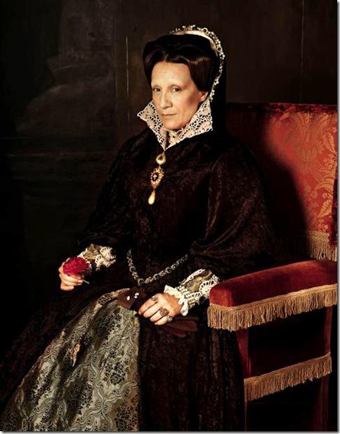 Manuel Outumuro_Blanca Portillo. 'Retrato de la reina María Tudor', de Antonio Moro