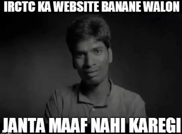 Janta Maaf nai Karegi - IRCTC ki website bnane walon.. JMNK by Vikrmn CA Vikram Verma Author 10 Alone