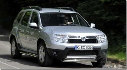 Dacia Duster in GB 01