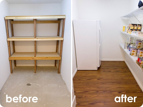 Food Storage Room Before_After