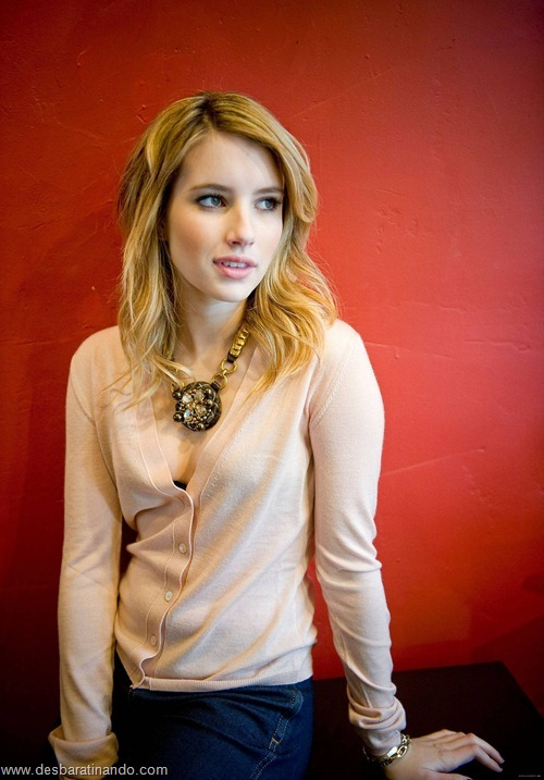 Emma Roberts linda sensual sexy sedutora desbaratinando (150)