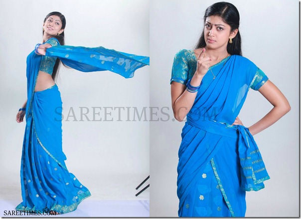 Pranitha_Half_Saree