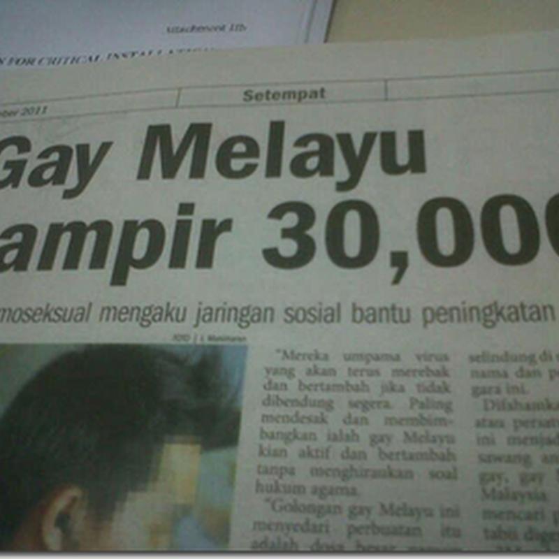 Gay melayu hampir 30 ribu