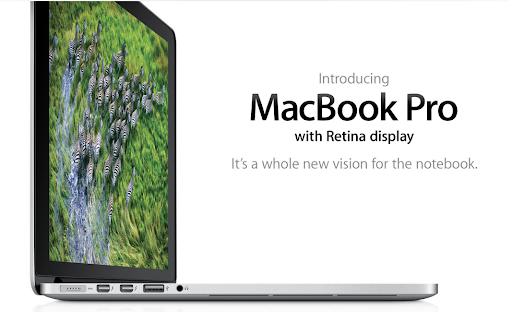 MacBook Pro retina display