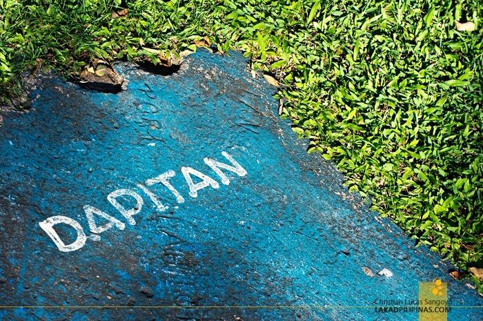 Dapitan on Dapitan at Rizal's Relief Map