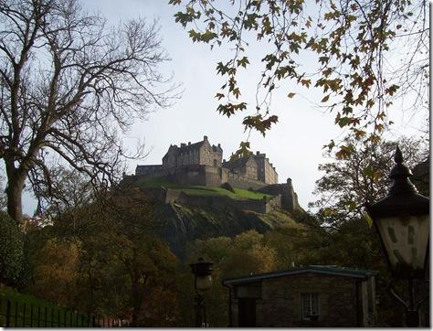 Edinburgh castle Prince's street