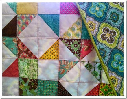 Moda Love Quilt Closeup