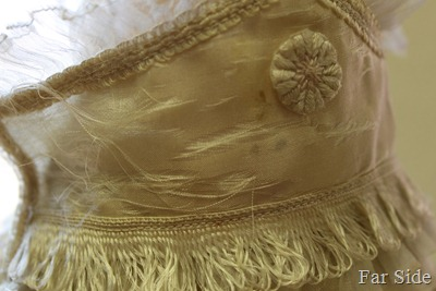 1910 Wedding Dress Collar