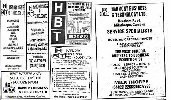 Harmony Business Old advertisment