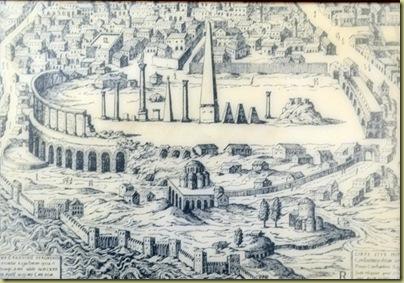 Istanbul Hippodrome in 1450