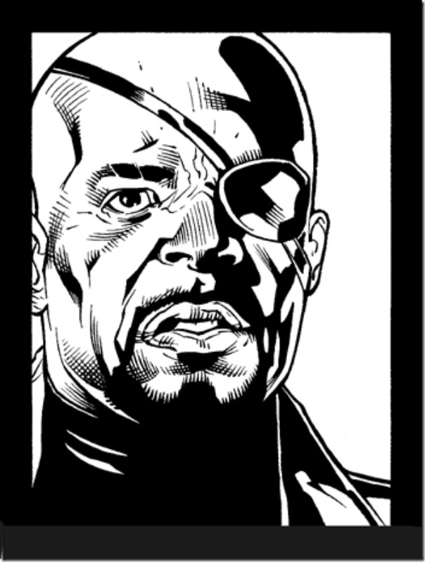 Nick Fury,Nicholas Joseph,Samuel L. Jackson, David Hasselhoff (26)