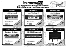 Harmony-Hat-Trading-Casio-Keyboards-sales-2011-EverydayOnSales-Warehouse-Sale-Promotion-Deal-Discount