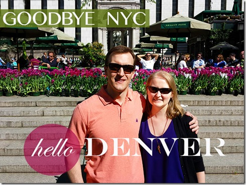 We're Moving to Denver