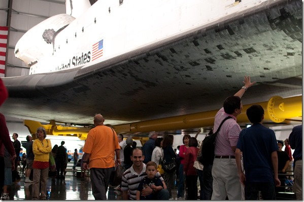 Space Shuttle Endeavour - California Science Center