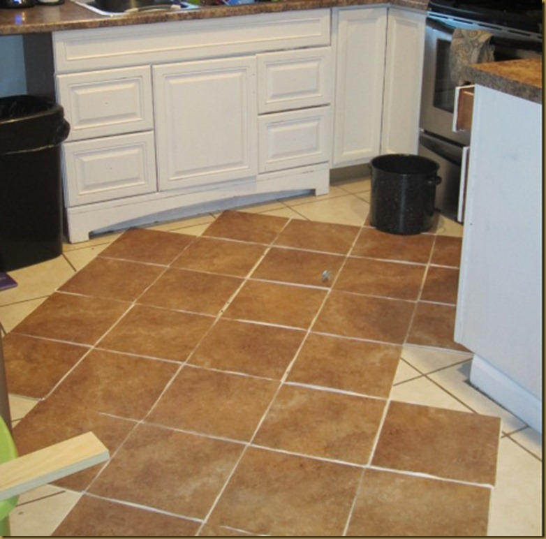 "How I ""Tiled"" My Floors on the Cheap-Trafficmaster Ceramica Tiles ..."