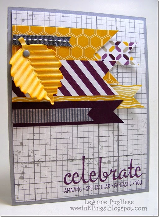 LeAnne Pugliese WeeInklings ColourQ258 Fabulous Four Stampin Up