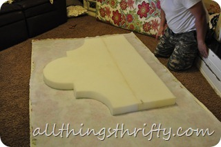 how to make an upholstered headboard