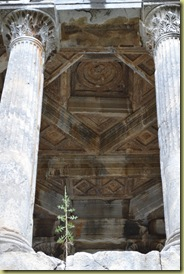 Mylasa Tomb Ceiling
