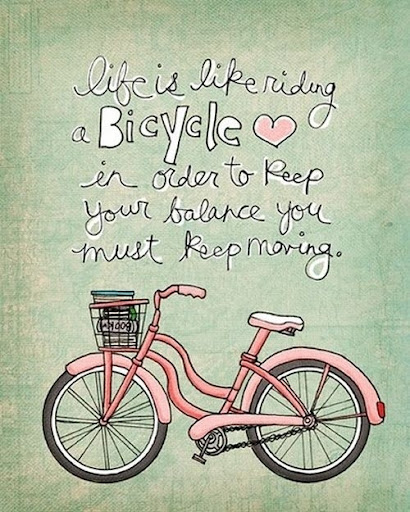 life_is_like_riding_a_bicycle_inspiring_quote_quote