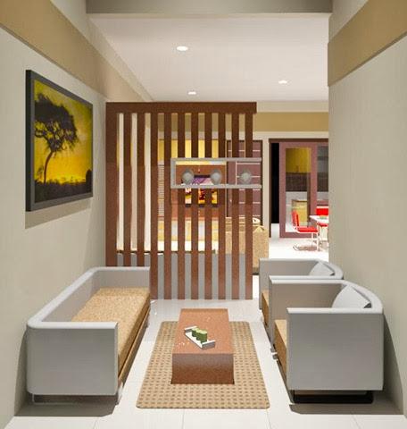 contoh desain interior ruang tamu