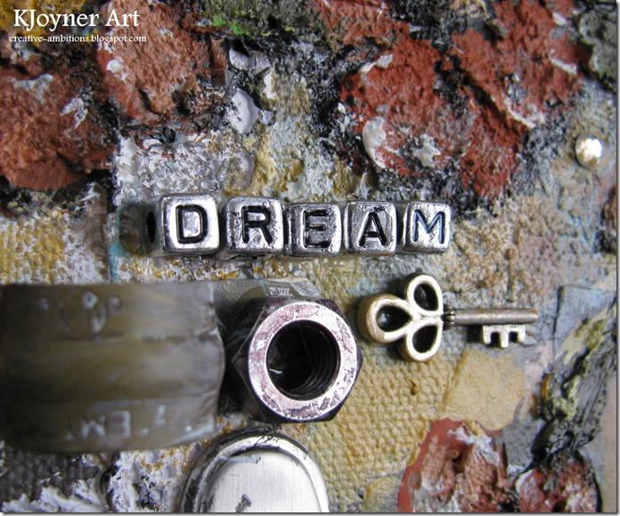 Dream Mixed Media Art