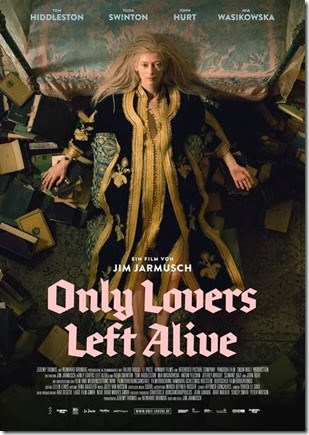 only lovers left alive poster5