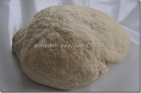 Pizza Dough Recipe by www.dish-away.com