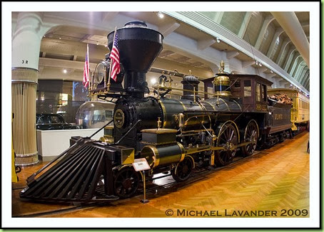 train in henry ford museum