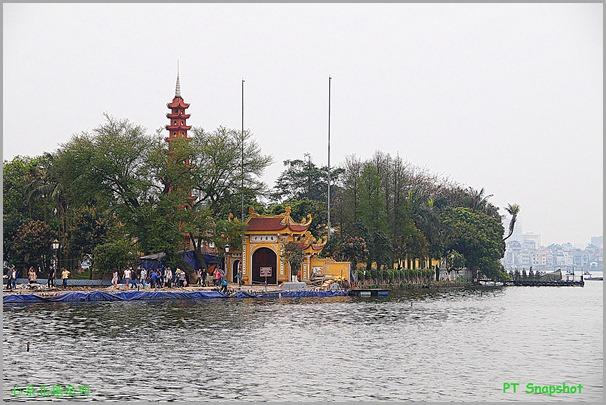 小岛上镇国寺